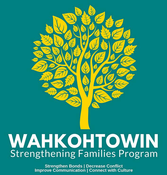 Wahkohtowin Strengthening Families Program poster