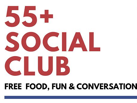 55+ Social Club poster