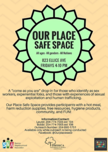 Our Place Safe Space Poster