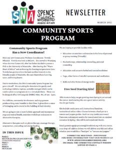 March Newsletter Front page